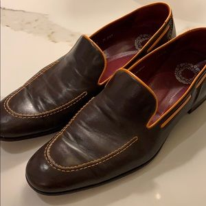 Mens Mezlan Custom leather loafers.